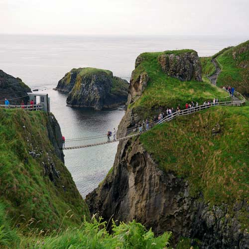 Carrick-a-Rede Rope Bridge and Giant Causeway