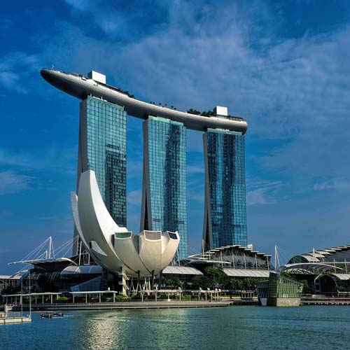 Marina Bay Sands Rooftop | Bucket List Group Travel