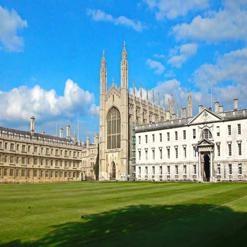 Oxford University and Cambridge University