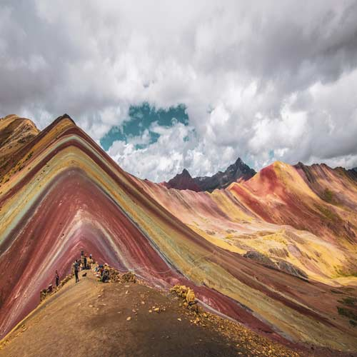 Rainbow-Mountain | Bucket List Group Travel