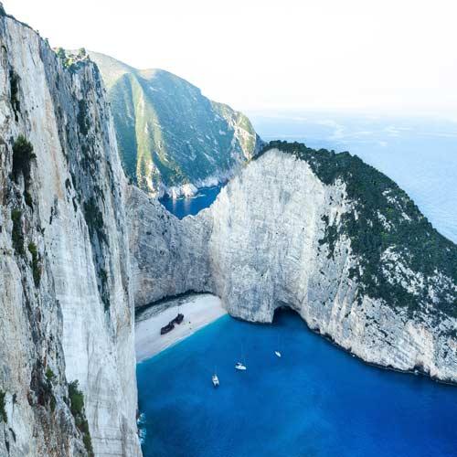 Zakynthos---Shipwreck-Beach | Bucket List Group Travel
