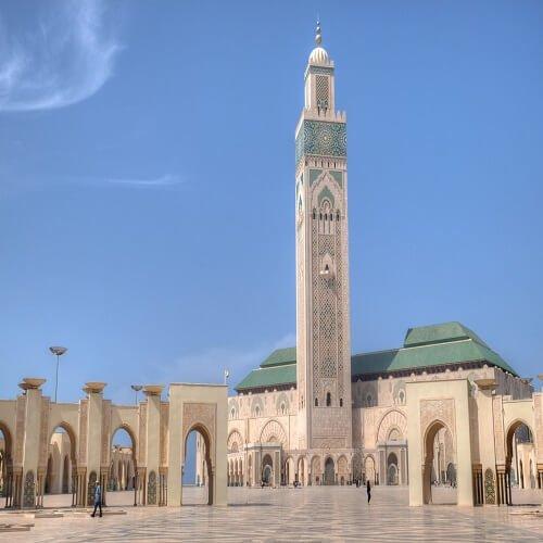 casablanca hasan 2 mosque marrakesh morocco | Bucket List Group Travel