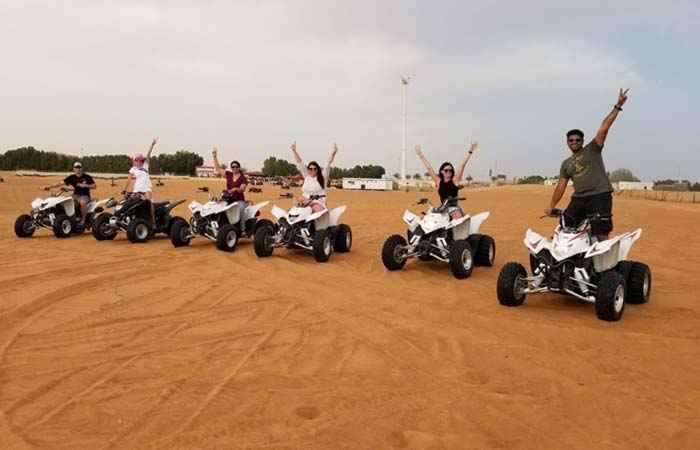 Bucket List Group quad biking in Dubai