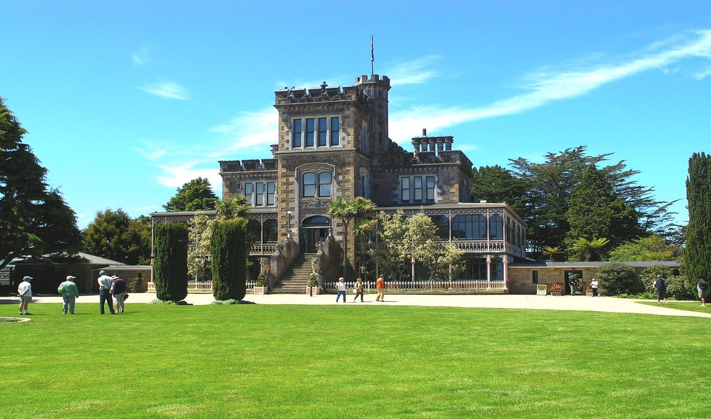 A spooky trip to New Zealand's Castle