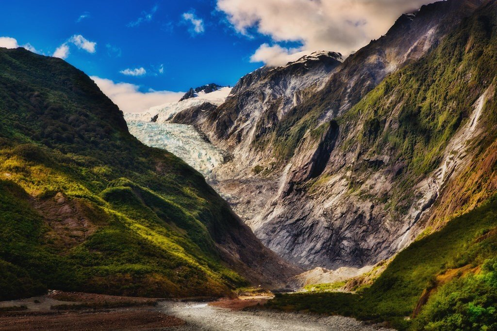 Hike to the glaciers