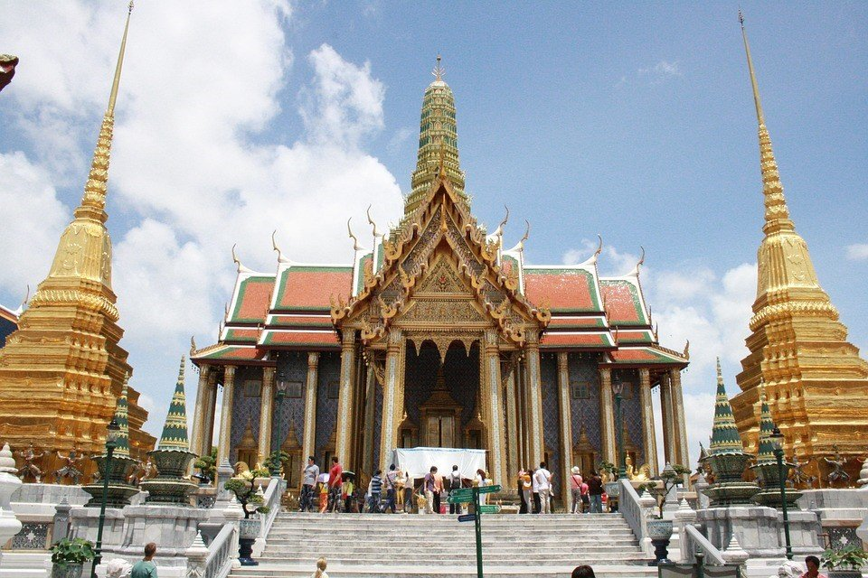 Witness the majestic beauty of The Grand Palace located in Bangkok