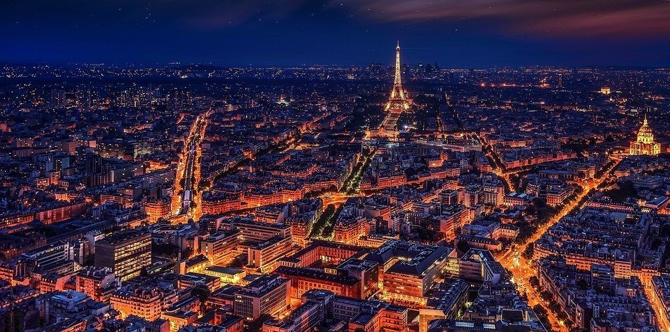 Most romantic places to visits in paris