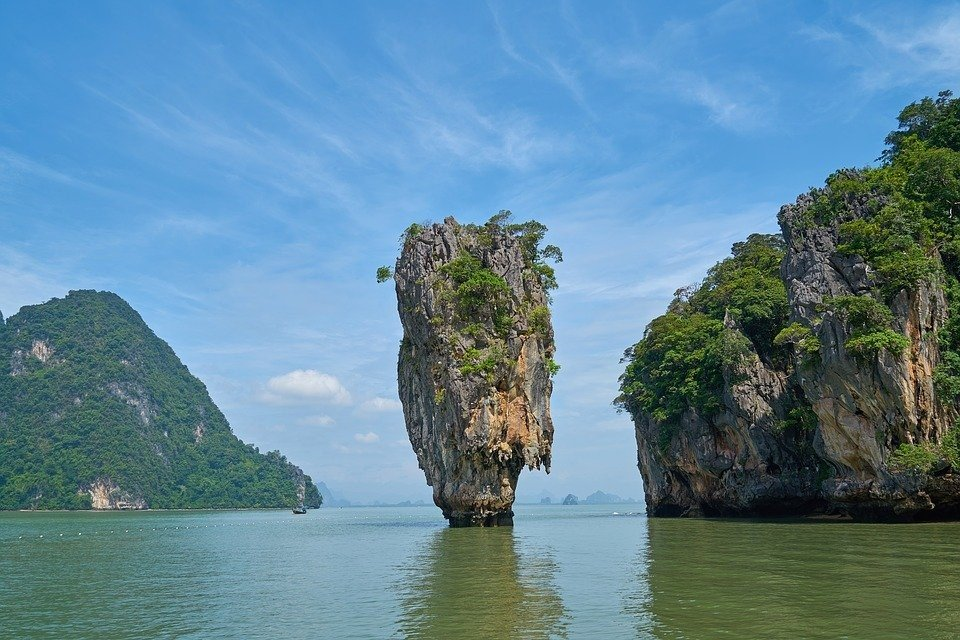 Explore the beaches and islands of Phang Nga Bay