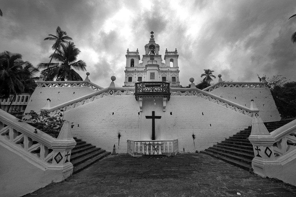 The pristine beaches of Goa