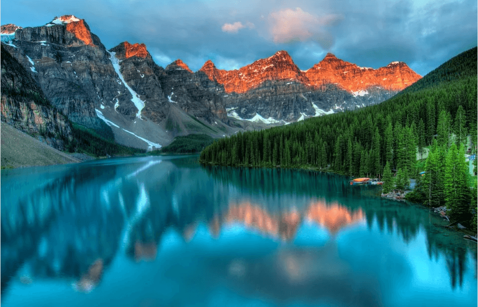 Banff National park for solo travelers