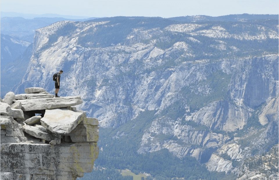 Trekking poles are a lifesaver