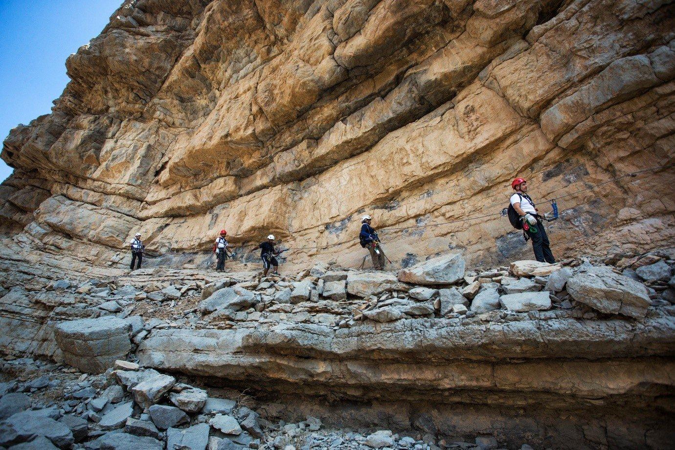 Limestone Cliffs & Mountain Climbing, Ras Al Khaimah