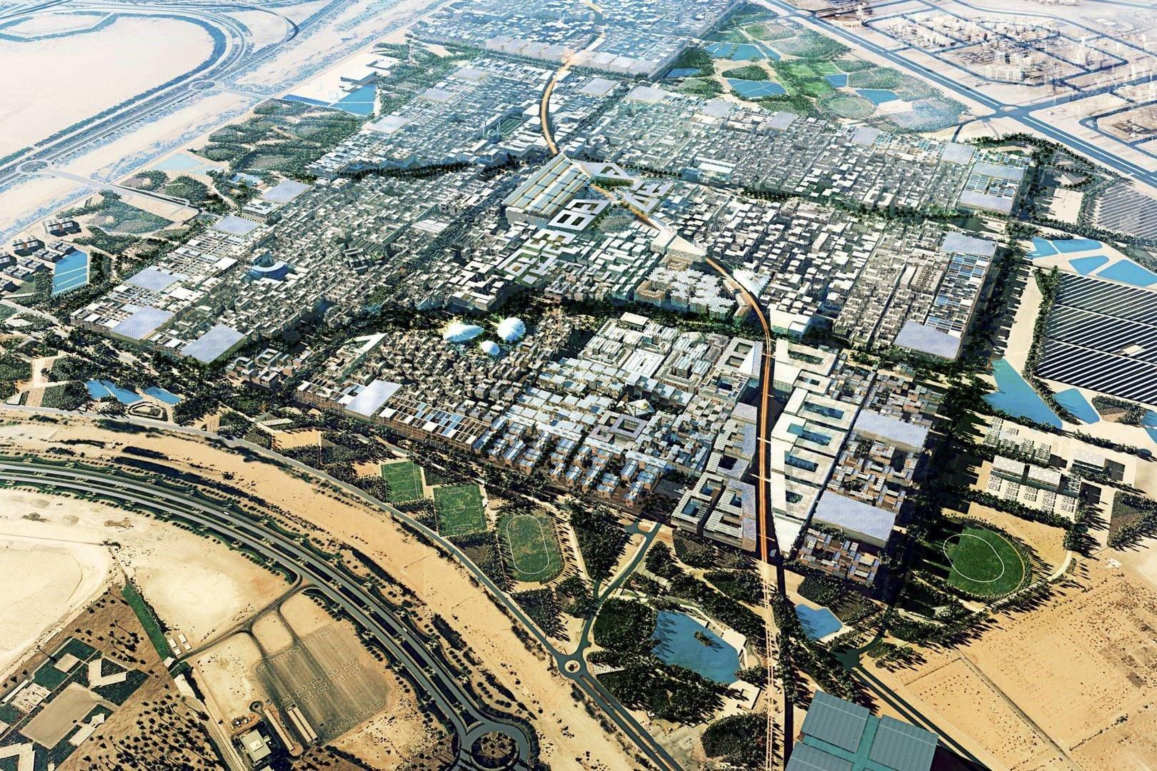The Futuristic Masdar City, Abu Dhabi